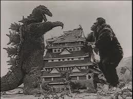 Godzilla v Mothra
